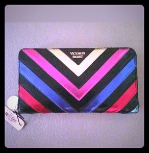 Victoria Secret Rainbow Wallet NWT